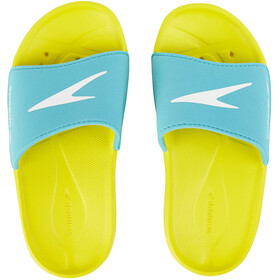 speedo Atami Core Beach Shoes Children yellow/turquoise